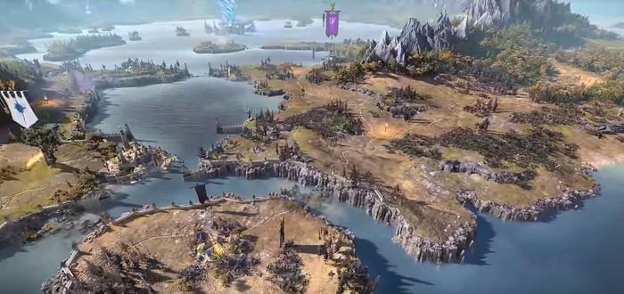 Обзорное видео карты мира Total War: Warhammer II