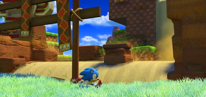 Платформер Sonic Forces выйдет 9 ноября