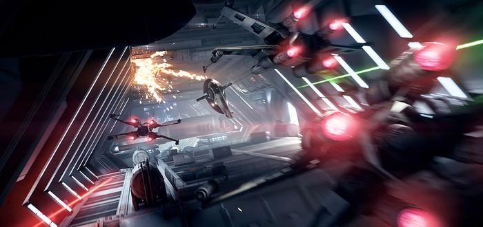 Геймплей за все космические корабли Star Wars Battlefront II