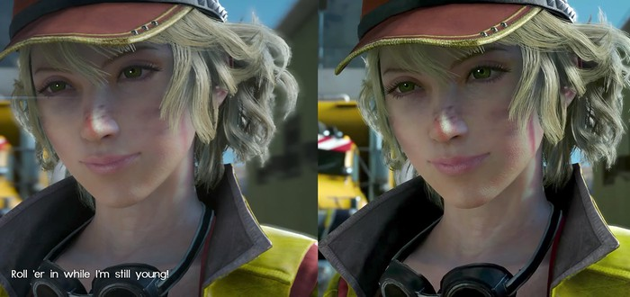 Сравнение графики Final Fantasy XV — PS4 Pro против PC