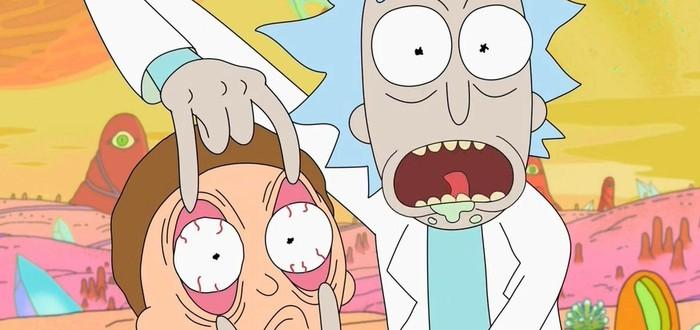 """Adult Swim подшутила над """"Игрой престолов"""" после титров серии """"Рика и Морти"""""""