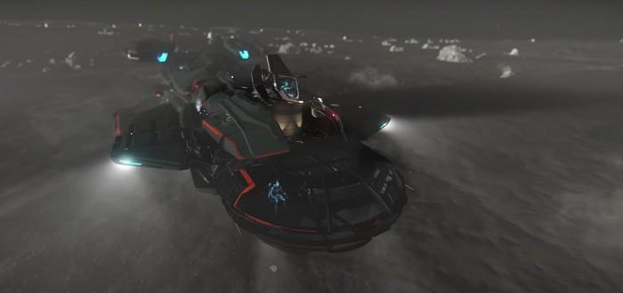Новый трейлер космического корабля RSI Constellation Aquila в Star Citizen