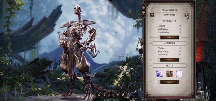 Разработчики Divinity: Original Sin 2 рассказали о расе нежити
