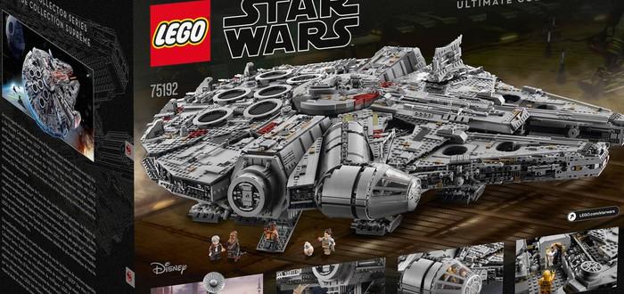 """""""Тысячелетний сокол"""" — самый большой и крутой набор Lego"""
