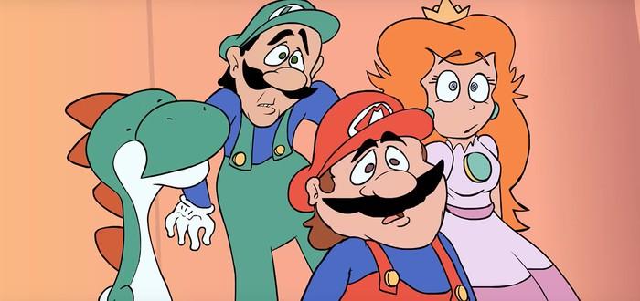227 художников ре-анимировали эпизод сериала Super Mario World