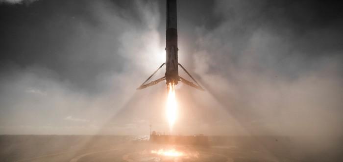 Илон Маск напоминает, как НЕ надо сажать ракетные ускорители на Землю