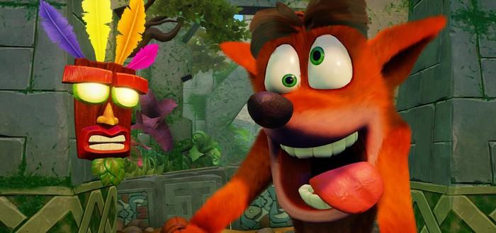 Funko Pop выпустит серию фигурок по Crash Bandicoot