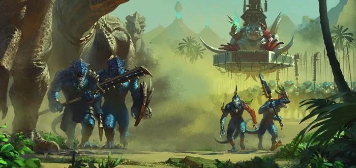 Кампания ящеролюдов в новом геймплее Total War: Warhammer 2