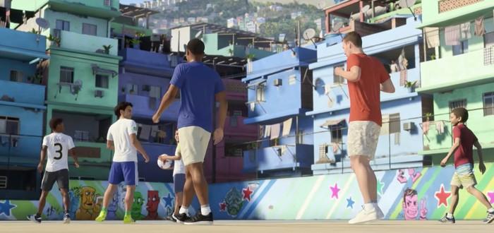 Дворовый футбол в новом геймплее сюжетного режима FIFA 18