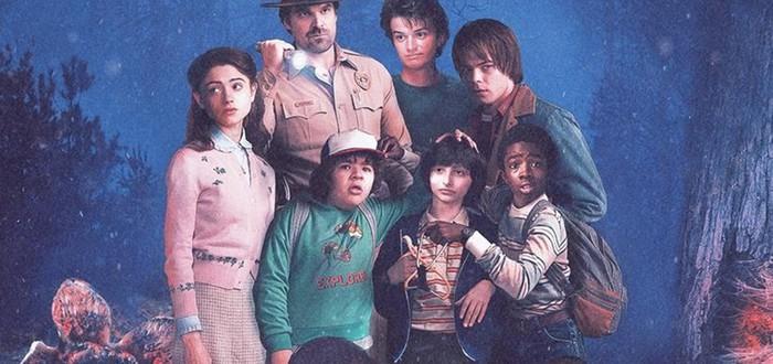 Постеры Stranger Things в стиле классики кинематографа — III