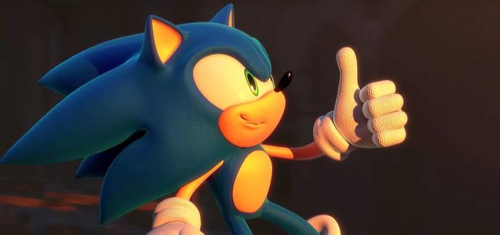 Геймплей за классического Соника в Sonic Forces