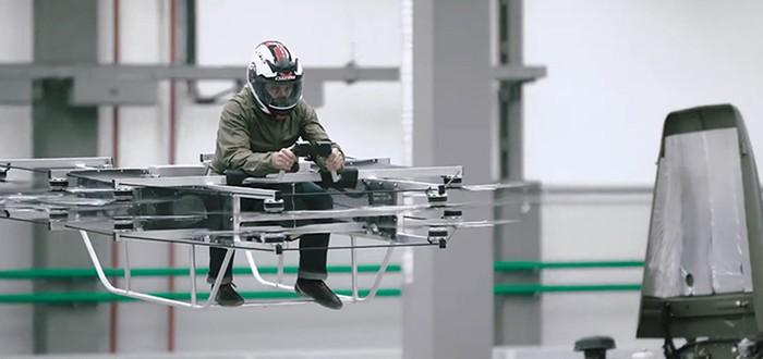 """""""Калашников"""" показал прототип своего ховербайка"""