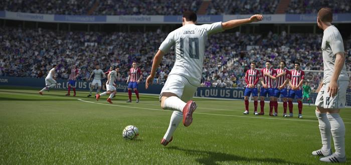 Запись полного матча FIFA 18 на Switch