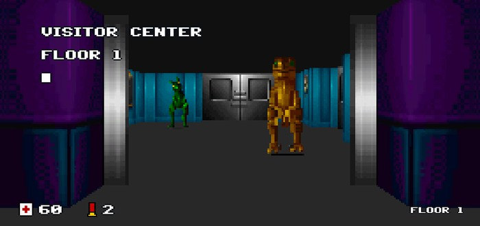 Фанат портирует SNES-версию Jurassic Park на PC
