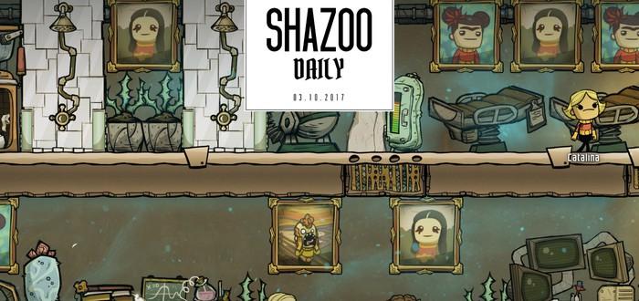 Shazoo Daily: Где-то уже выпадает снег