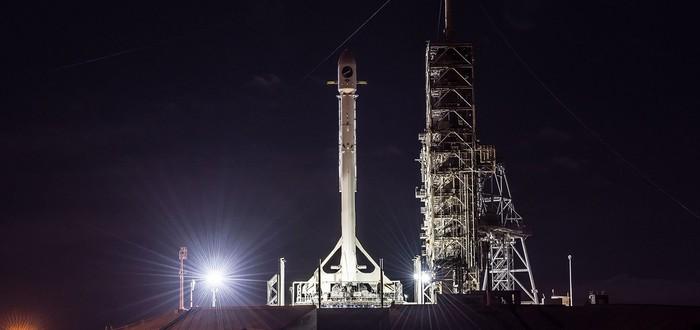 Прямой эфир второго запуска SpaceX на этой неделе