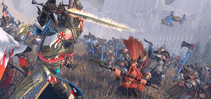 В трейлере Mortal Empires объединились кампании обеих частей Total War: Warhammer