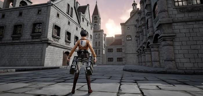 Доступна альфа-версия фанатской игры Attack on Titan