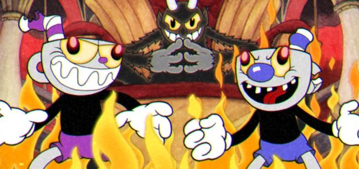 Персонажи видеоигр в стиле героев Cuphead