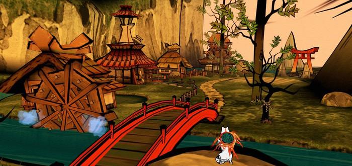 Новые скриншоты и трейлеры Okami HD