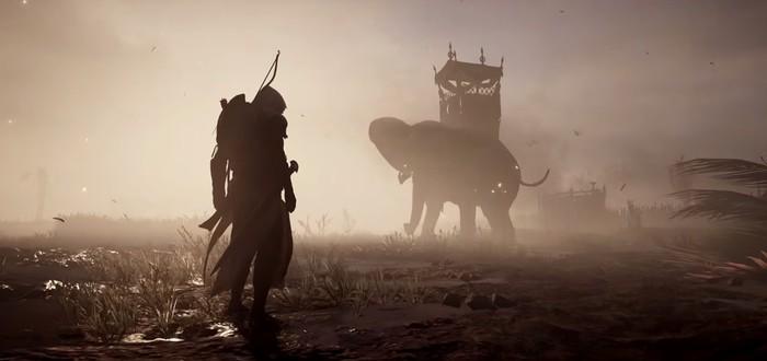 Steamcharts: Assassin's Creed Origins стартовала мощнее Wolfenstein II