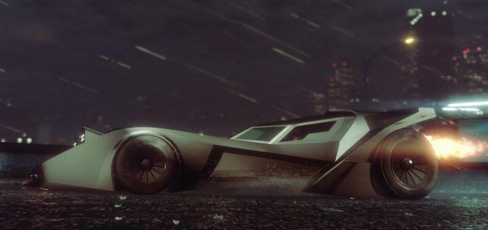 Бэтмобиль стал доступен в GTA Online