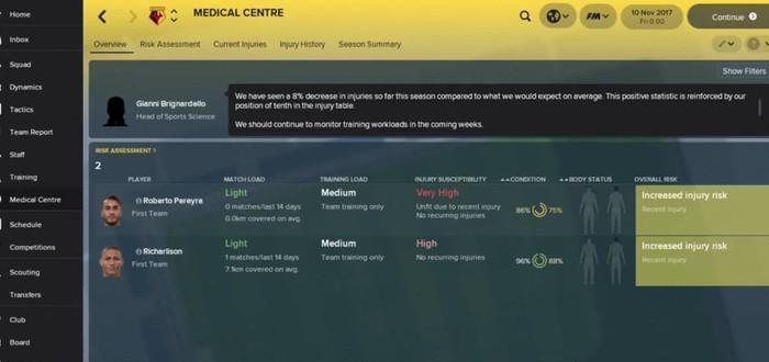 Демо Football Manager 2018 доступно по предзаказу