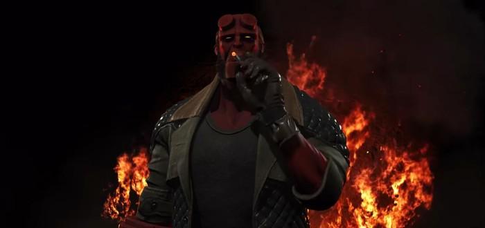 Новый трейлер Injustice 2 посвящен Хэллбою