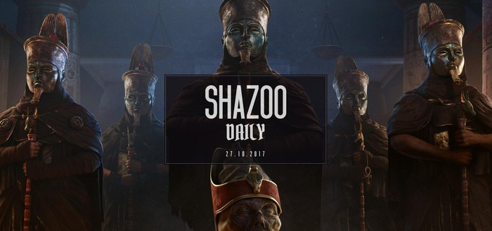 Shazoo Daily: Кодзима выбирает Assassin's Creed Origins