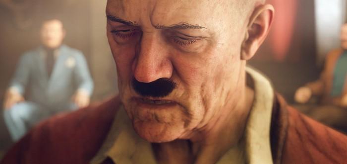 В немецкой версии Wolfenstein 2 Гитлеру убрали усы