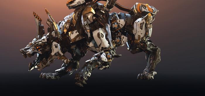 Разработчики Horizon: Zero Dawn рассказали о новом роботе из дополнения