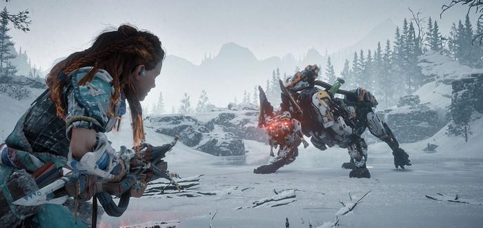 12 минут геймплея в дополнениии Horizon: Zero Dawn — The Frozen Wilds