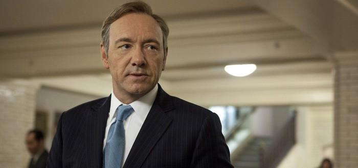 Netflix прекратил сотрудничество с Кевином Спейси