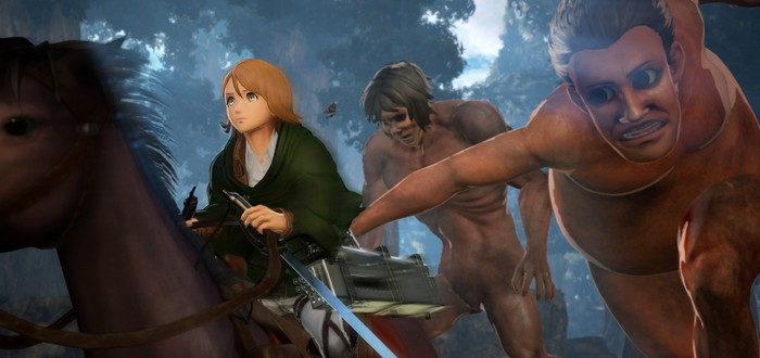 Представлена пятерка новых играбельных героев Attack on Titan 2