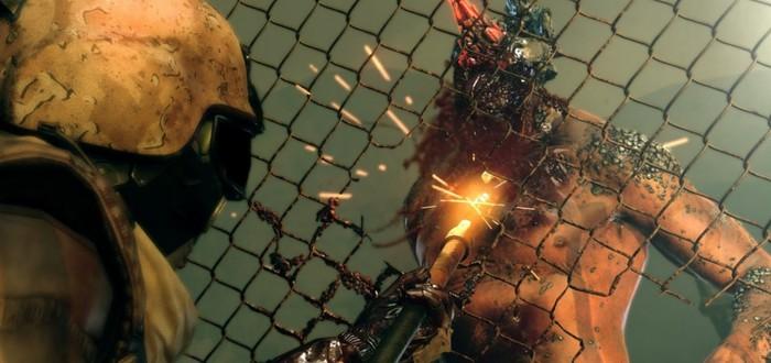 Новый геймплей Metal Gear Survive с отстрелом зомби из лука