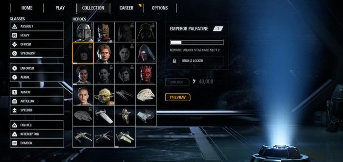 Гайд: система прокачки, крафтинг, звездные карты и микротранзакции Star Wars Battlefront 2