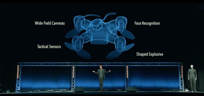 Страшное будущее дронов-убийц