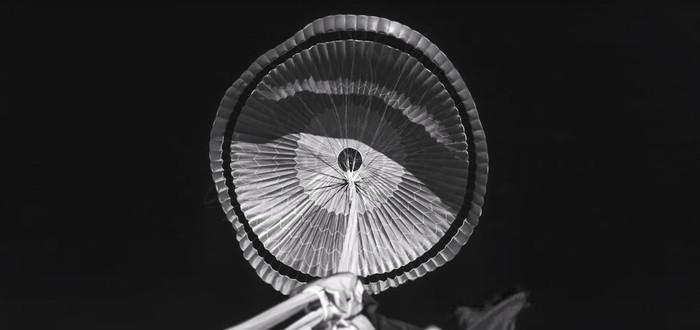 NASA опубликовала запись испытания марсианского парашюта
