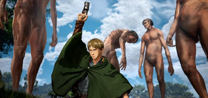 Безумный геймплейный трейлер Attack on Titan 2