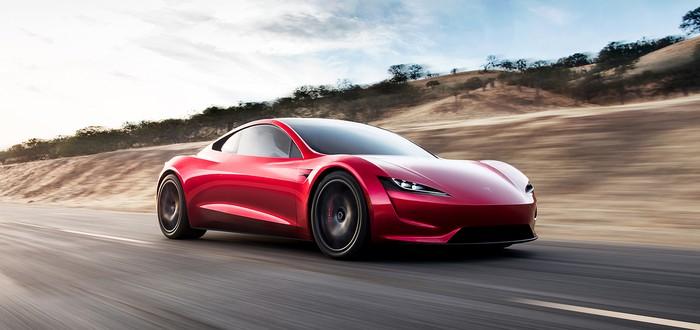 Неожиданный анонс Tesla — новый электрический родстер-рекордсмен