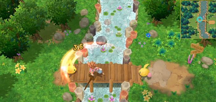 Новый геймплей ремейка Secret of Mana