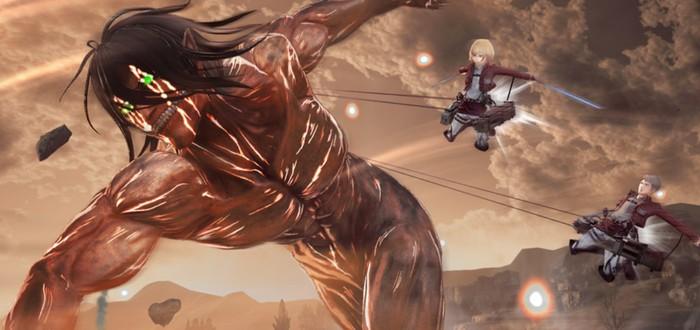Галерея скриншотов Attack on Titan 2 с новыми персонажами