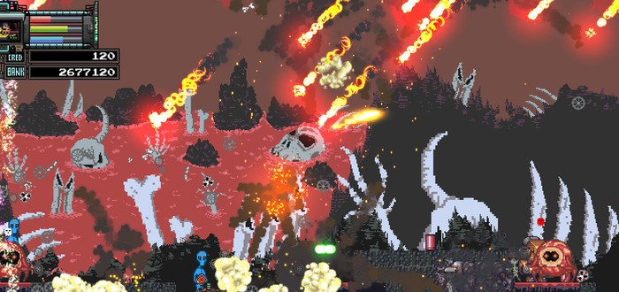 Heckpoint — безумный 2D-экшен об инопланетном вторжении