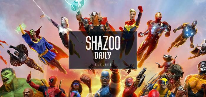 Shazoo Daily: всего понемногу