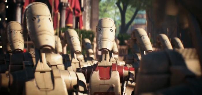 Геймер сделал робота для гринда Star Wars Battlefront 2