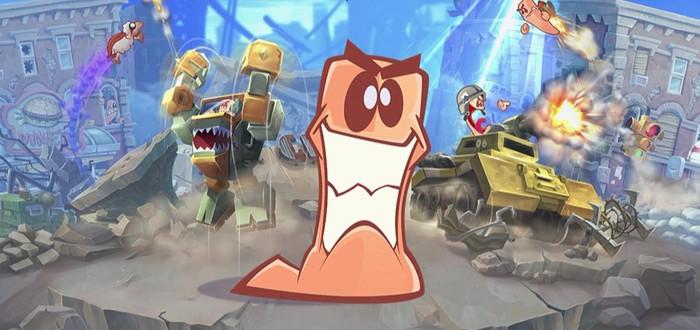 Релизный трейлер Worms W.M.D
