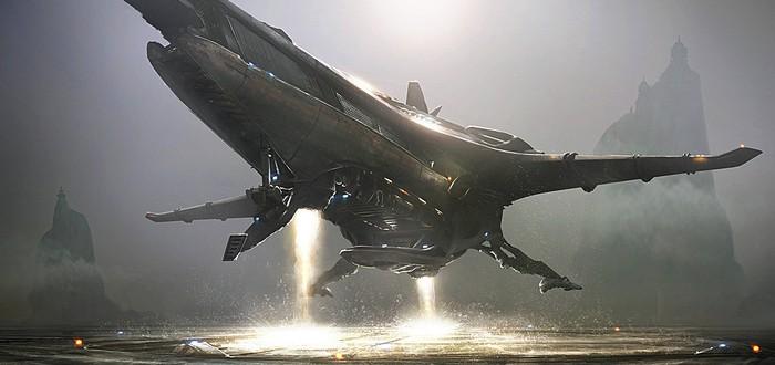 Космические корабли пришельцев в новом видео Star Citizen