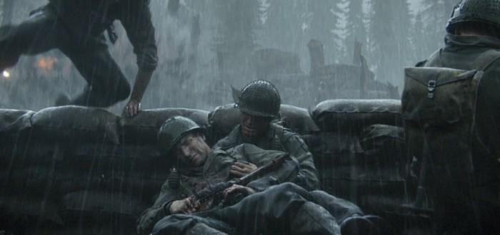 Call of Duty: WWII уверенно держится на первом месте в британском чарте продаж