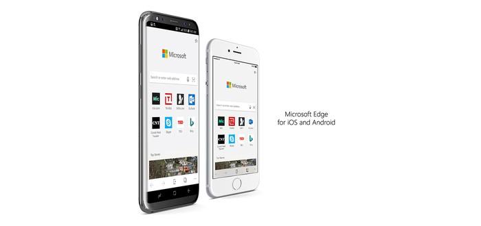 Браузер Microsoft Edge доступен для всех пользователей Android и iOS