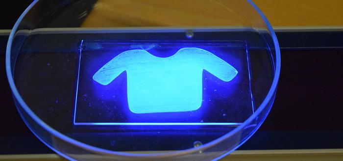 """""""Живая краска"""" печатаемая при помощи 3D-принтера может заменить кожу"""